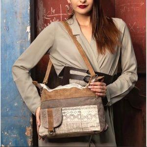 Myra Tribe Canvas Messenger Bag
